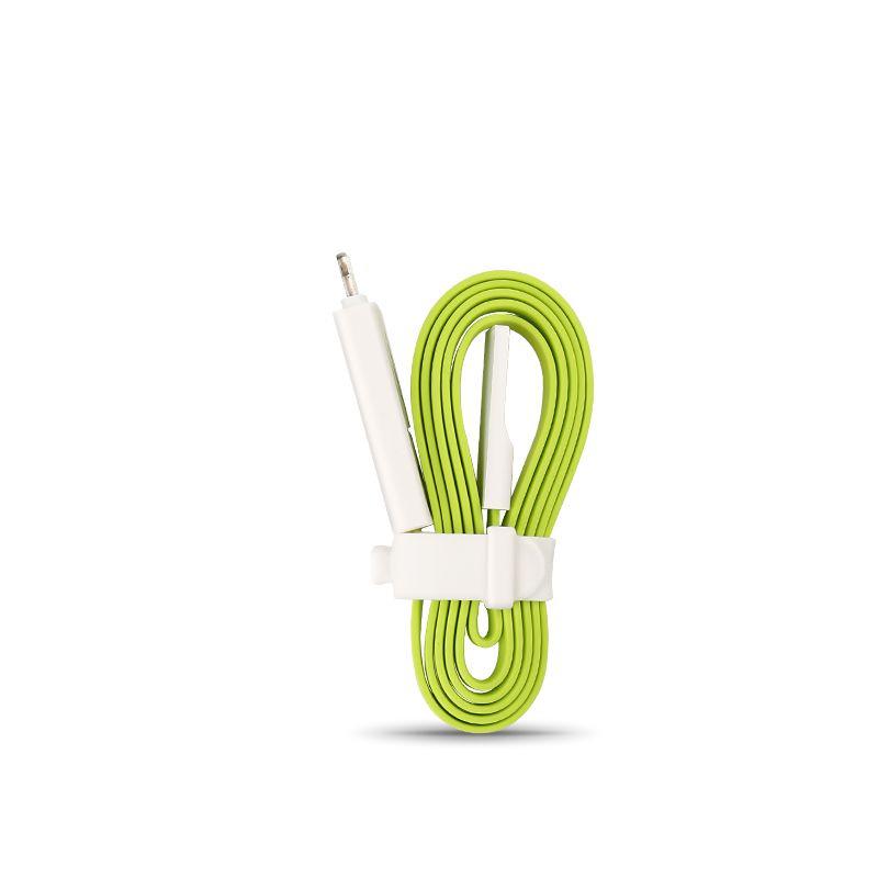 Кабель Pisen AL04-800, зеленый