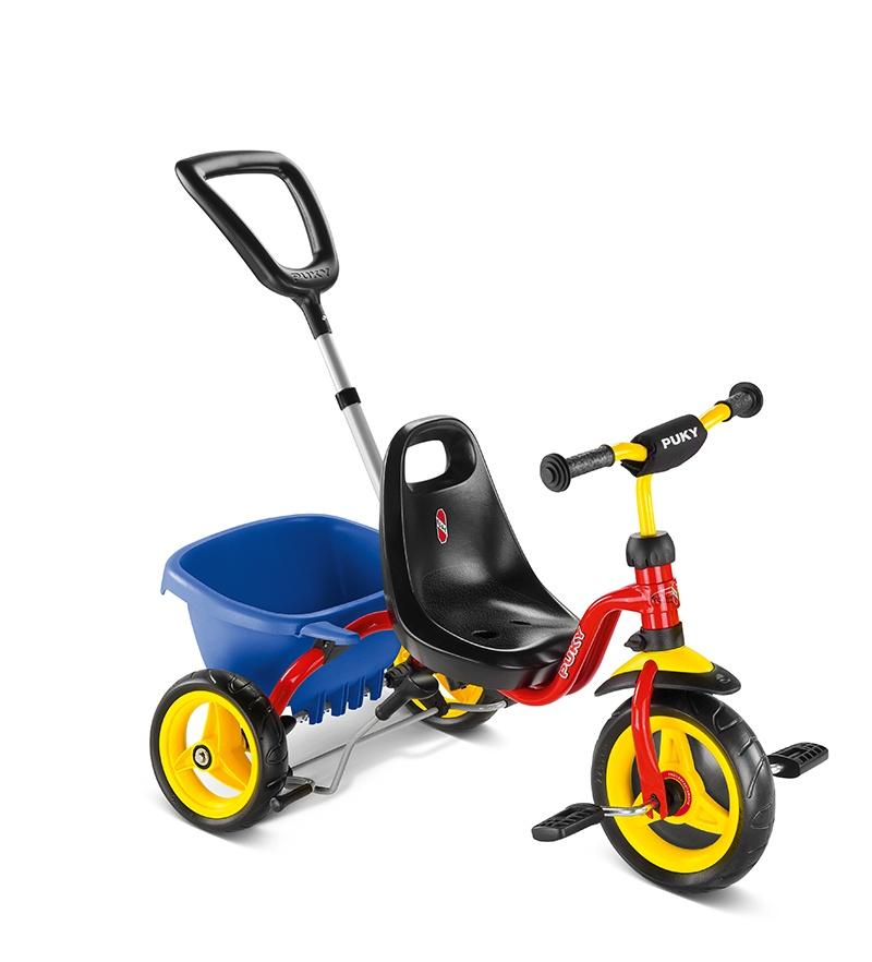 Велосипед Puky CAT 1S, красный
