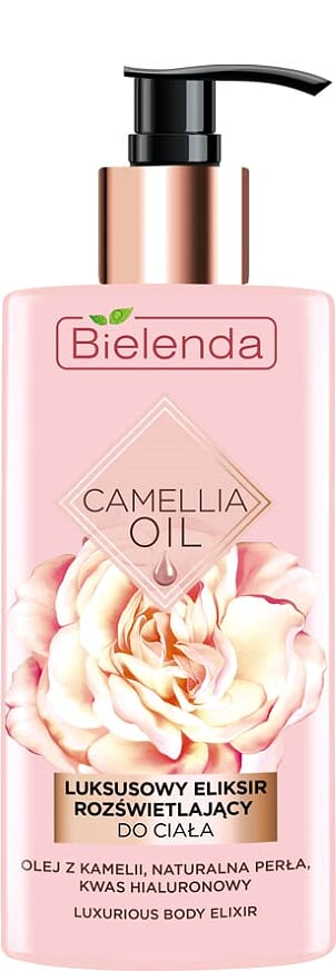 Эксклюзивный эликсир для тела, CAMELLIA OIL, 150мл