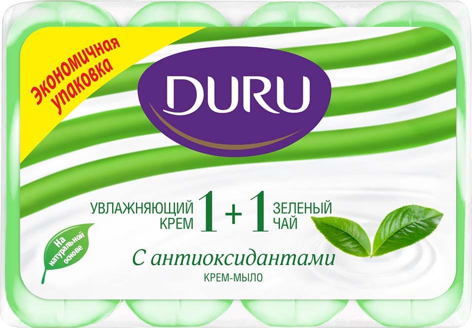 цена на Duru Мыло 1+1 Зеленый чай 4*90г*
