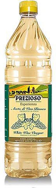 Prezioso Esperienza Уксус винный белый 6%, 1 л цена и фото