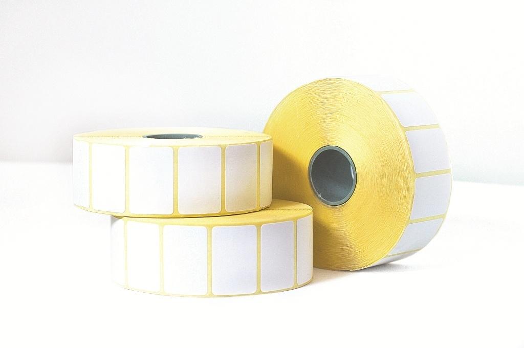 Этикетка для печати Lux-Paper B14877, белый