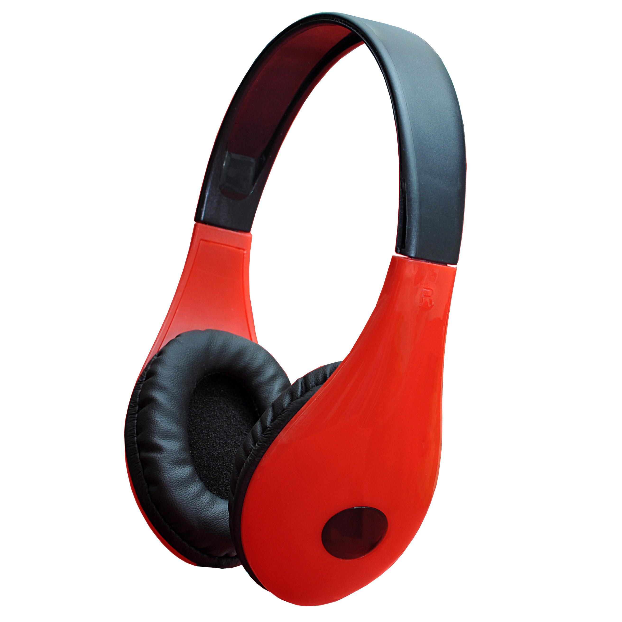 Наушники Perfeo FANCY, черный, красный стоимость