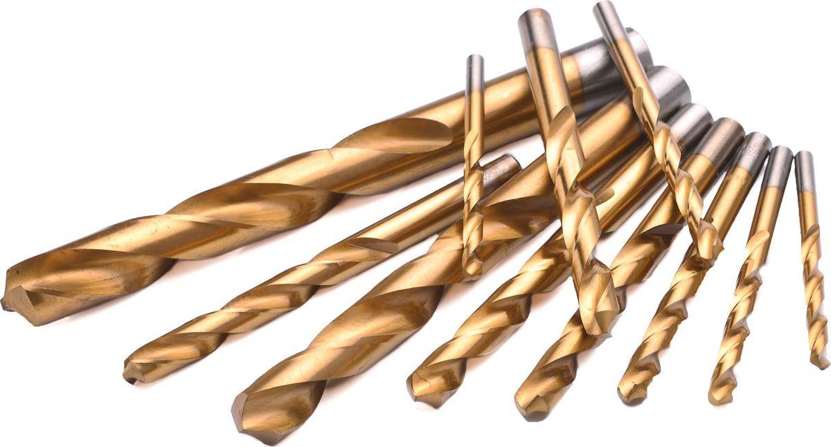 Сверло Harden, по металлу, 19 мм, 610281610281Быстрорежущая сталь Р6М5К5 с нитридтитановым покрытием. Самоцентрирующаяся конструкция наконечника, позволяющая свердить без использования керна. Упаковка в блистер.