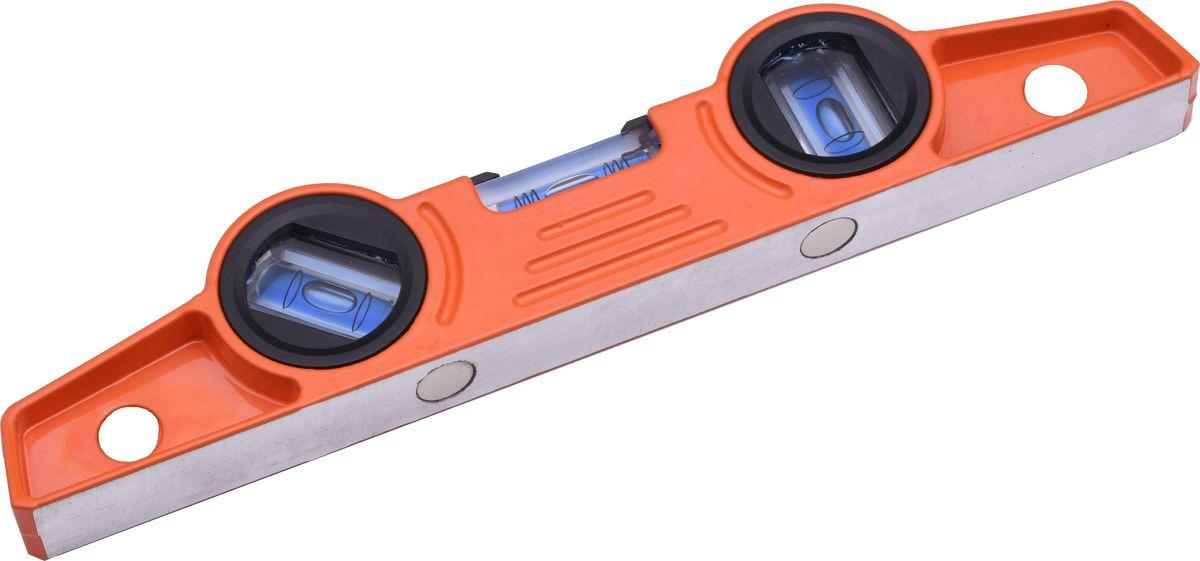 Уровень Harden Торпедо, с 3 глазками и магнитной системой, 24,5 см