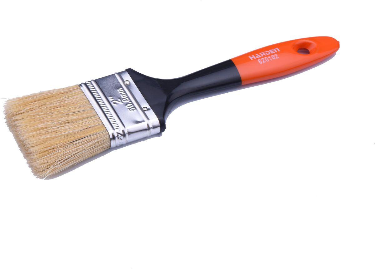 Кисть для покраски Harden Гоген, флейцевая, 620101, 25 мм ролик для bosch покраски 25 см 1600z00017