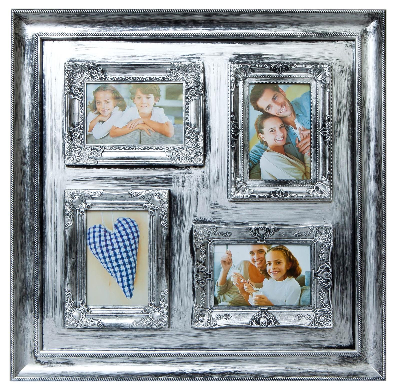 Фоторамка Platinum BIN-112134 S, серебристый фотоальбом platinum ландшафт 1 200 фотографий 10 х 15 см цвет зеленый голубой коричневый pp 46200s