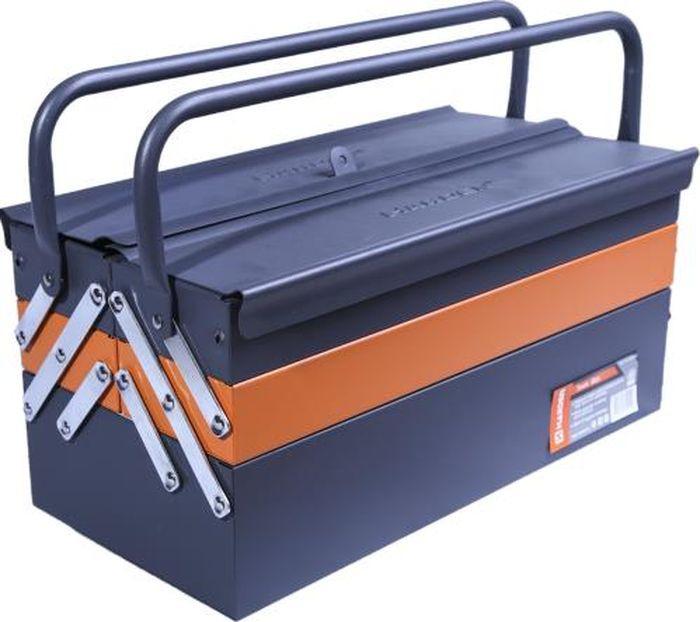 Ящик для инструментов Harden, раскладной, металлический, 520202, 44 х 22 х 20 см ящик универсальный альтернатива раскладной цвет в ассортименте 38 5 х 25 5 х 21 см