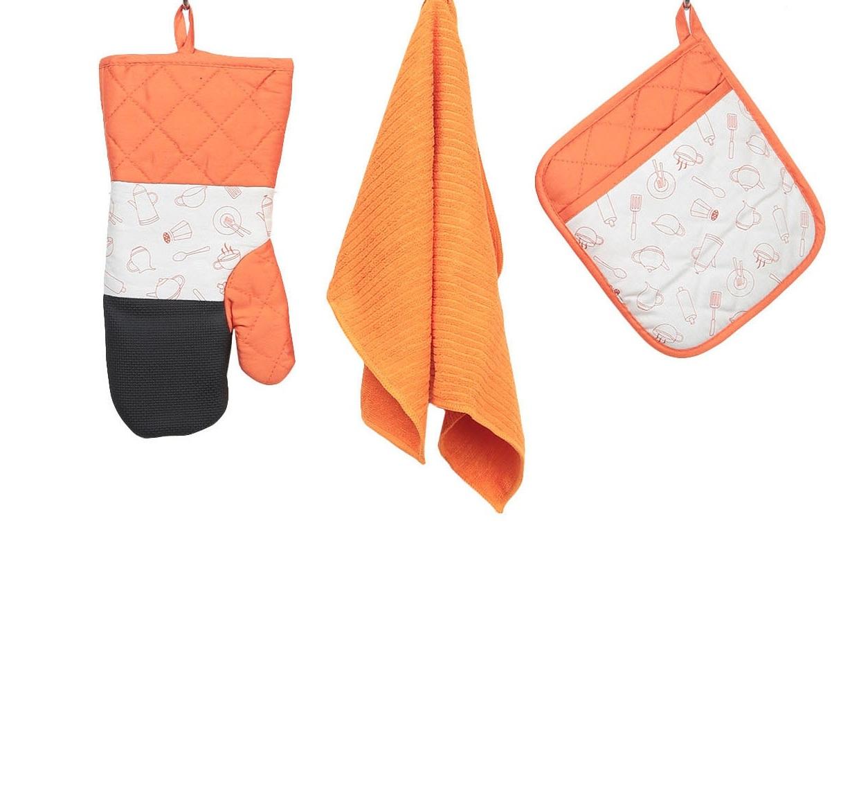 Прихватка, рукавица и салфетка ТекСтиль для дома СН-003/О-О