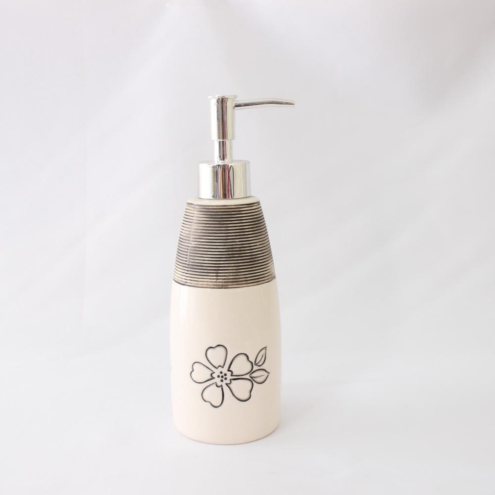 Дозатор для мыла Sibo SI36263, Керамика дозатор д жидкого мыла primanova akik bej керамика бежевый