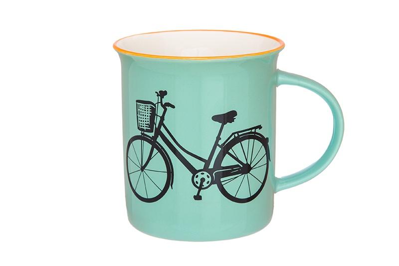 цена на Кружка 320 мл 12х8,5х9 см Elan Gallery Велосипед