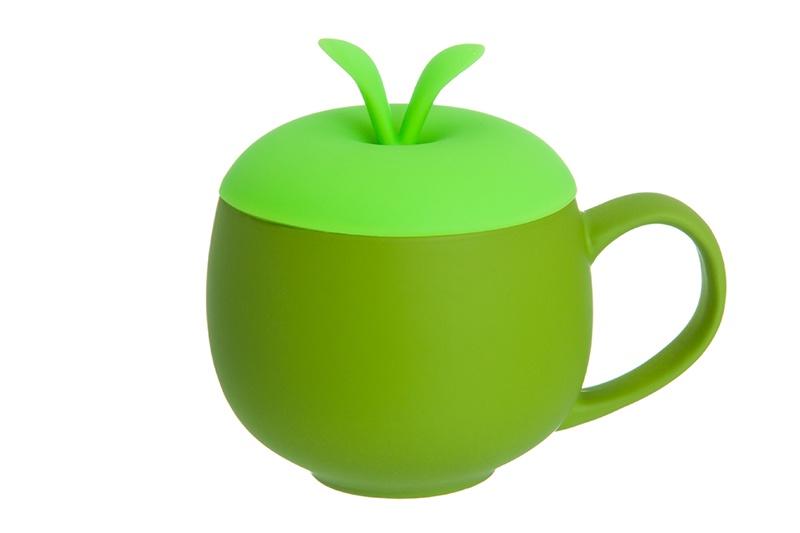 Кружка Elan Gallery Зеленая, зеленый соусник elan gallery листок 15 7 5 2 5 см 2 секции