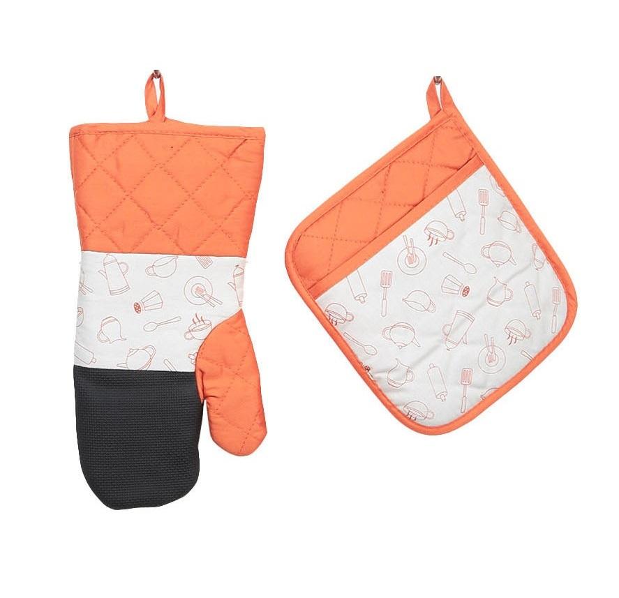 Прихватка и рукавица ТекСтиль для дома CH-004-О