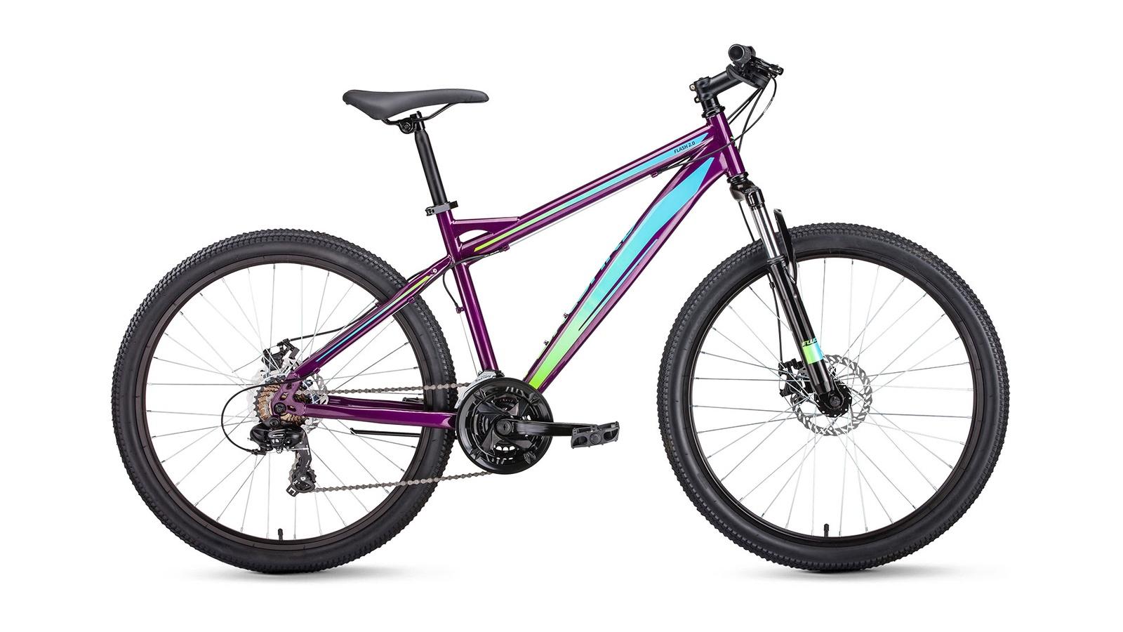 Велосипед Forward Flash, фиолетовый велосипед forward flash 26 2 0 disс 2019
