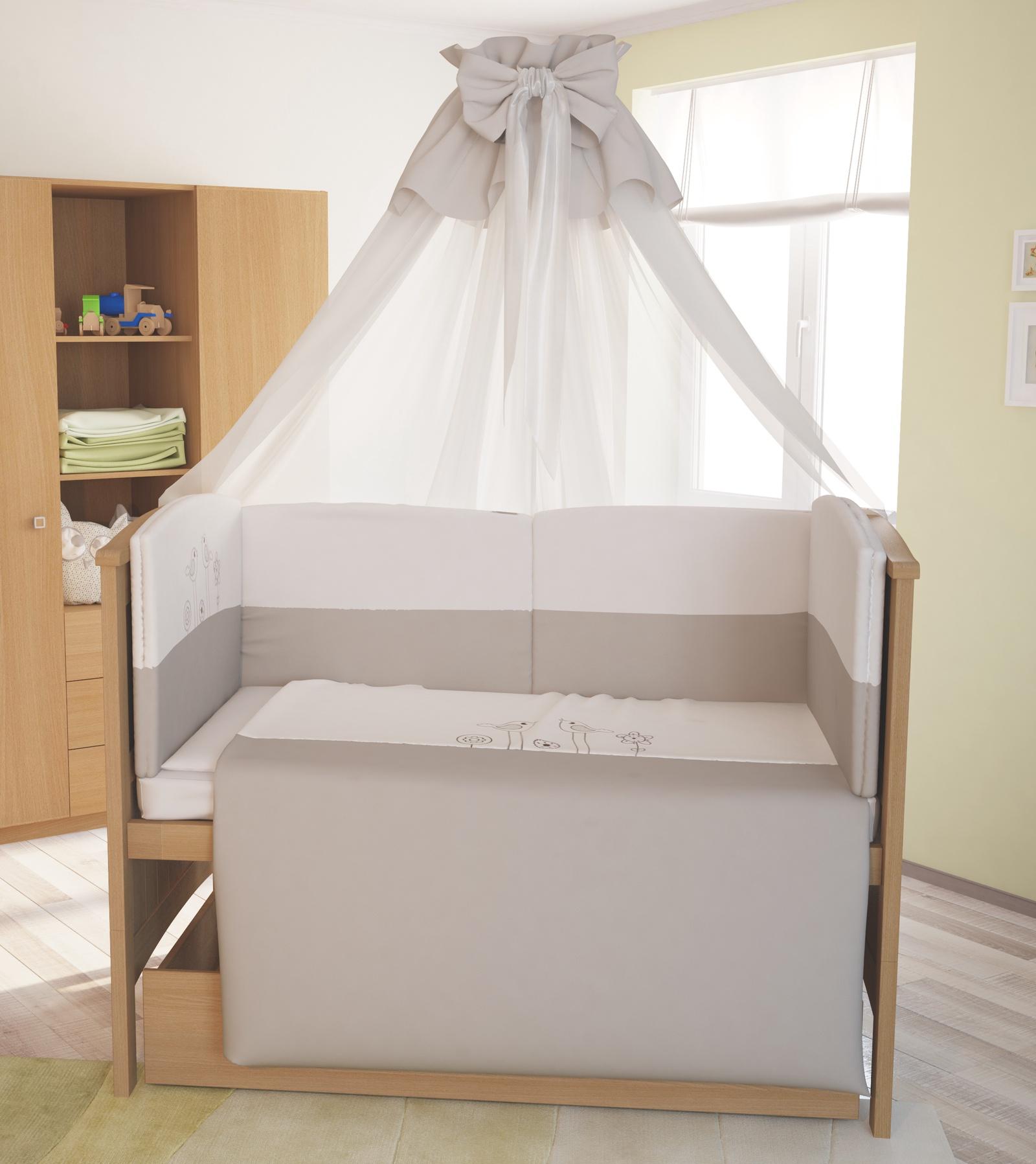 Комплект в кроватку Polini 0001261.100, бежевый