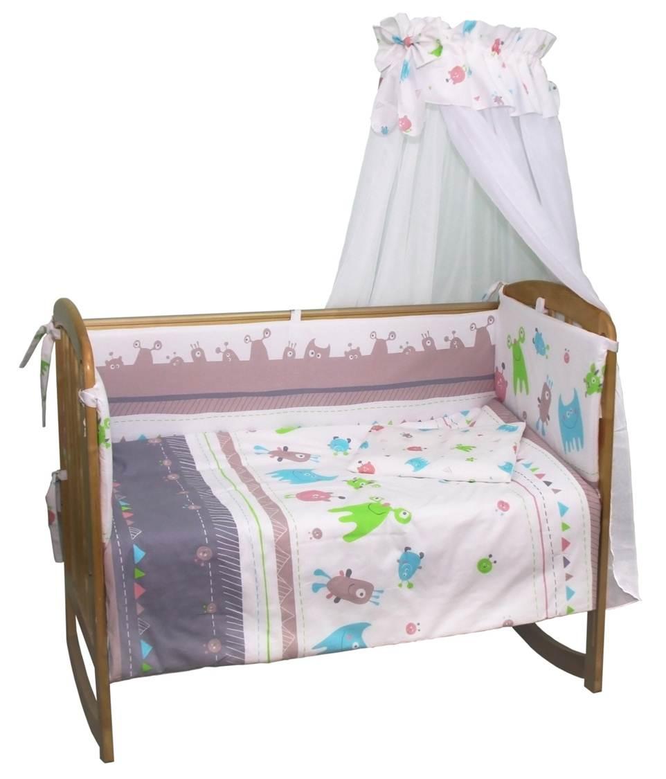 Комплект в кроватку Polini 0001216 комплект в кроватку polini 0001201 1 голубой