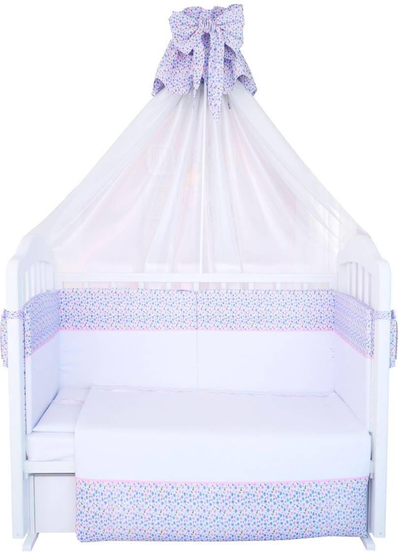 Комплект в кроватку Polini 0001265, белый
