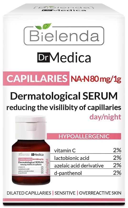 Сыворотка уменьш. видимость капилляров д/н ГИПОАЛЛЕР, DR MEDICA CAPILLARY SKIN, 30мл.