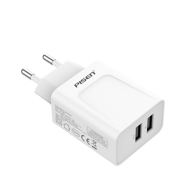 Фото - Зарядное устройство Pisen TS-C067, белый внешний аккумулятор pisen ts d186 белый