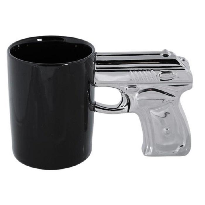 Фото - Кружка Gift republic Пистолет чёрный, черный, серебристый кружка gift