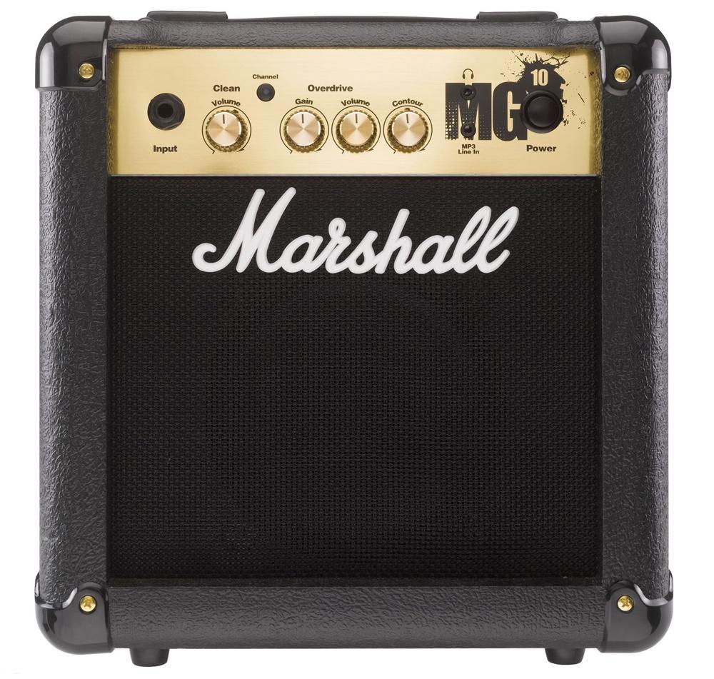 Гитарный комбоусилитель MARSHALL MG10G, черный