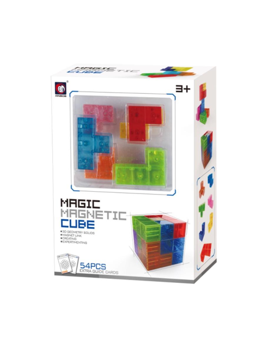 Магнитный конструктор XINBIDA 730А головоломка magic cube 002610