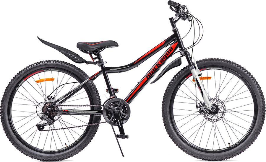 Велосипед Black Aqua Cross 1651 D, черный, зеленый, колесо 26