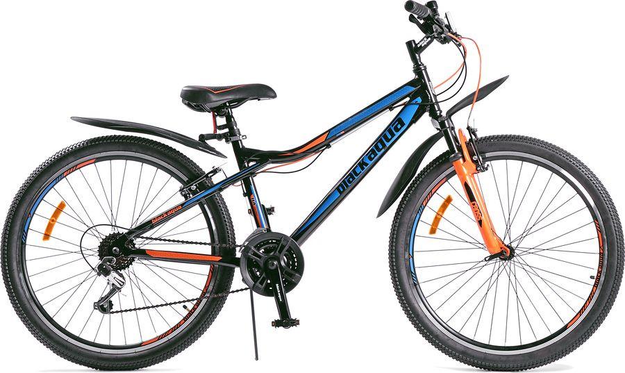 Велосипед Black Aqua Cross 2681 V, черный, зеленый, колесо 26, рама 15