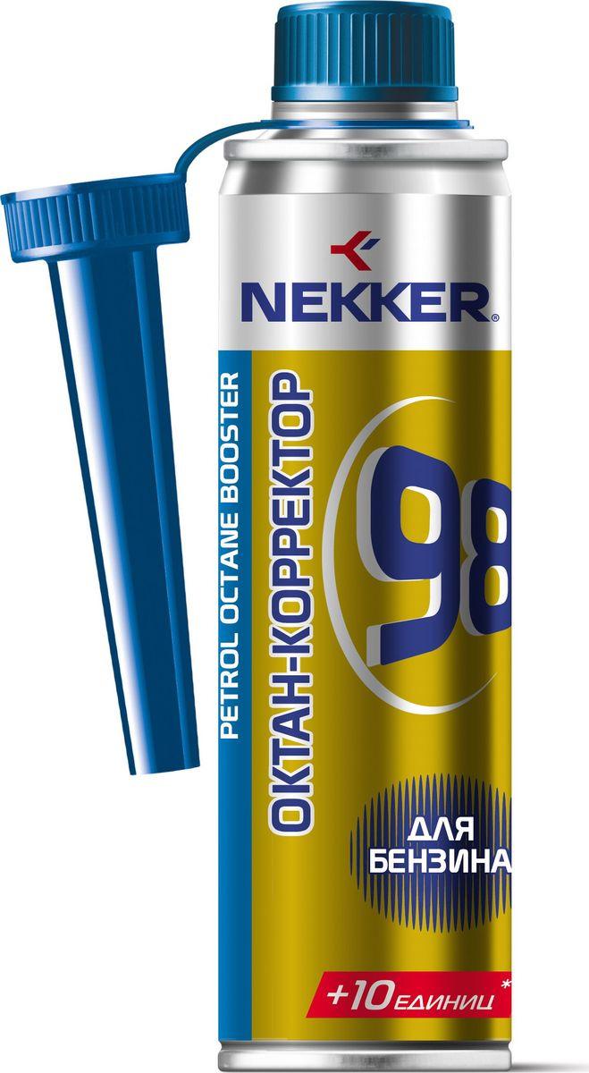 Октан-корректор для бензинового топлива Nekker, 250 мл66121707Современное высокоэффективное средство. «Скорая помощь» бензинового двигателя вашего автомобиля. Повышает октановое число бензина. Восстанавливает стабильную работу двигателя в случае использования некачественного бензина. 250 мл хватает на 50-60 литров горючего. В профилактических целях применять присадку через каждые 5-6 заправок. Рекомендуем!