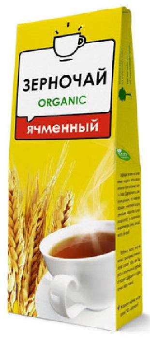 Чай растворимый Компас Здоровья чай, натуральный, органический, Ячмень, 100