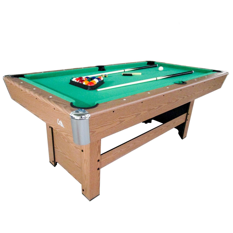 Бильярдный стол DFC Craft, зеленый, коричневый