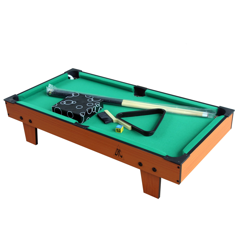 лучшая цена Бильярдный стол DFC Pirate, зеленый