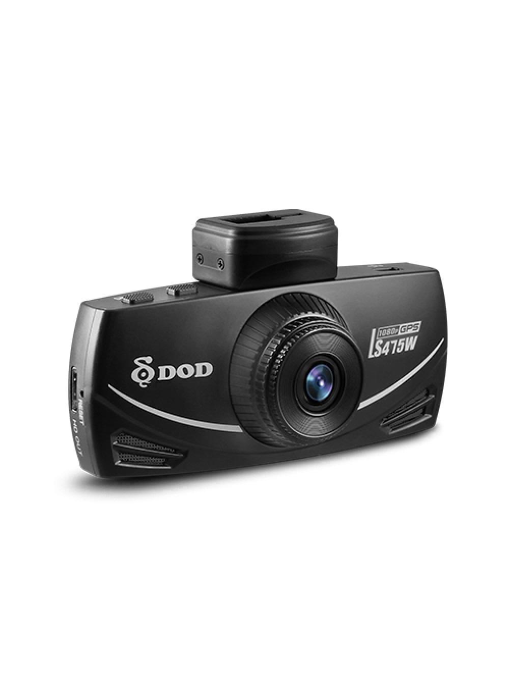 Видеорегистратор DOD LS475W, черный видеорегистратор 9500