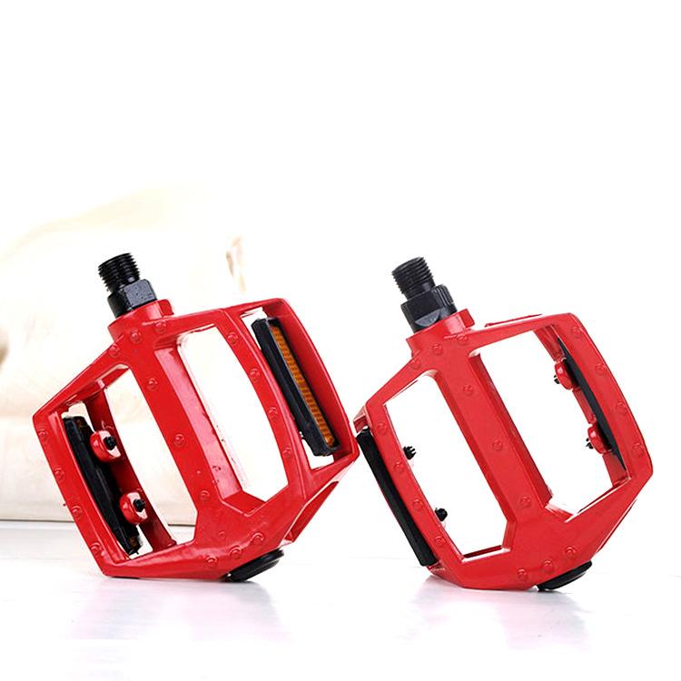 Педали MoscowCycling MC-PED-04, красный чемодан feixueer из алюминиевого сплава