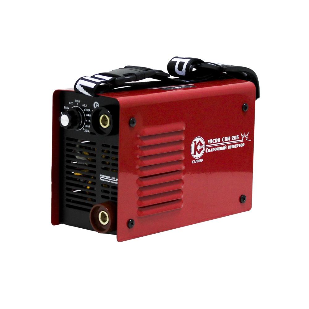 Сварочный аппарат Калибр MICRO СВИ-205, красный baon сви��ер