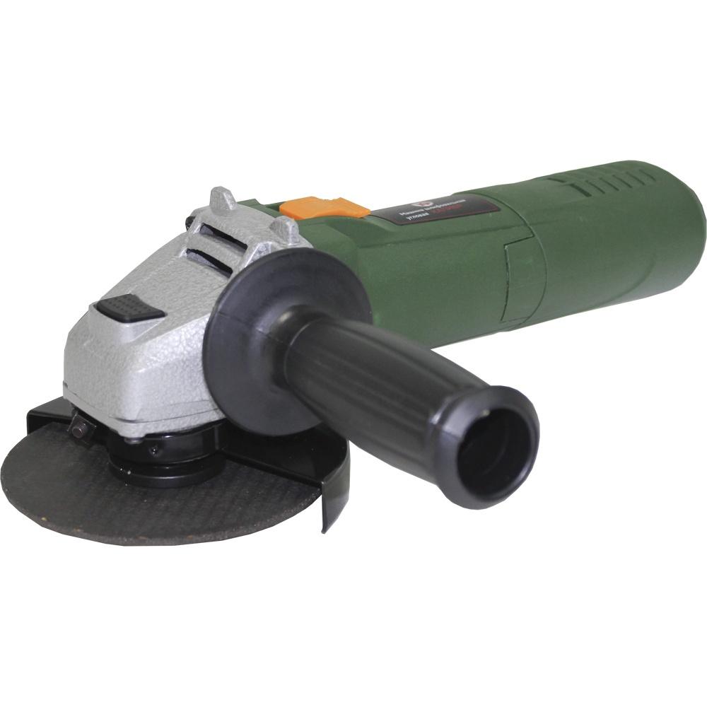 Шлифмашина угловая Калибр МШУ-115/750, зеленый цена