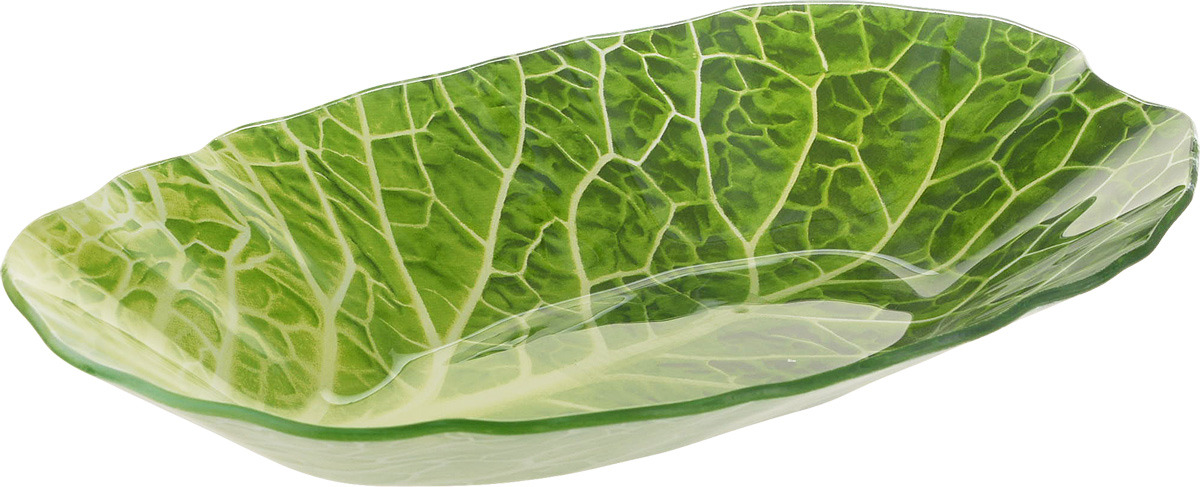 Салатник Walmer Leaf Lettuce, 18 х 27 см rib knit lettuce hem open front bodysuit