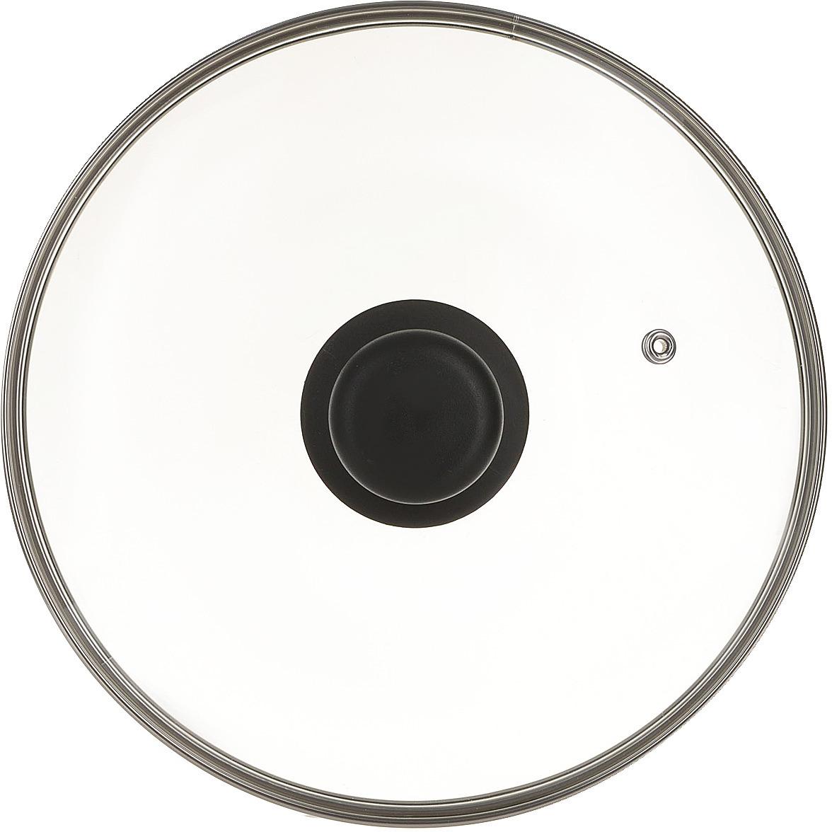 Крышка TVS, 4722, прозрачный, диаметр 22 см цена