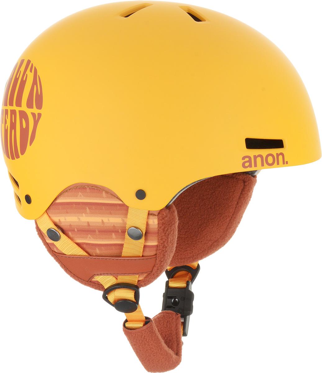 Шлем горнолыжный для мальчика Anon Rime. Размер L/XL anon маска сноубордическая anon somerset pellow gold chrome