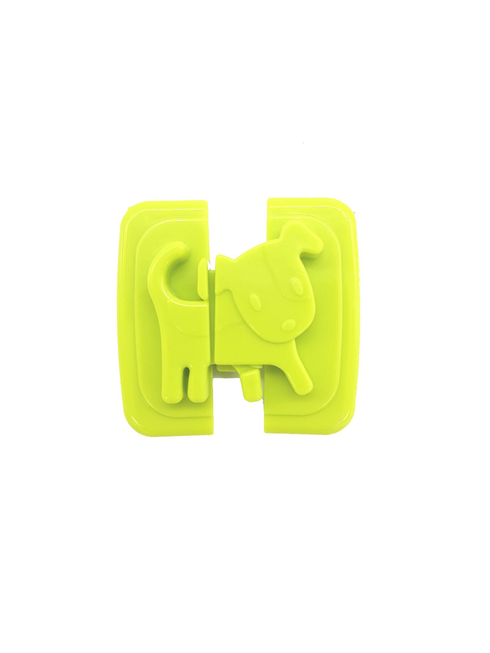 Блокиратор дверей/ящиков Зигуля Блокиратор-01, зеленый