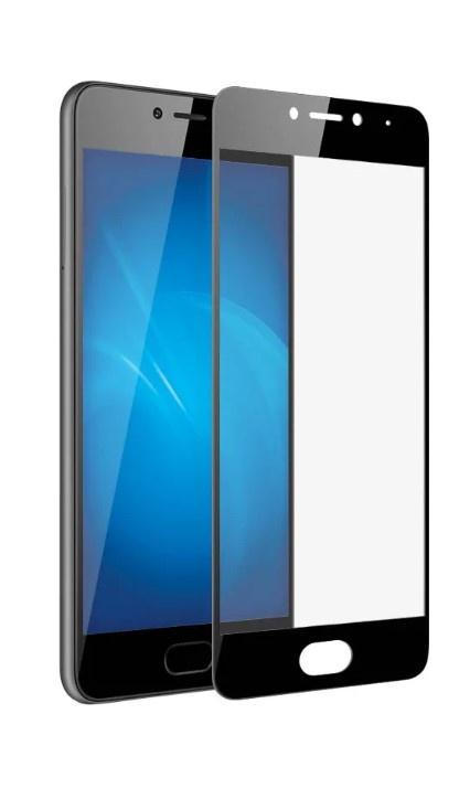 Защитное стекло TFN 134565703572 защитное стекло для meizu m6s onext на весь экран с черной рамкой