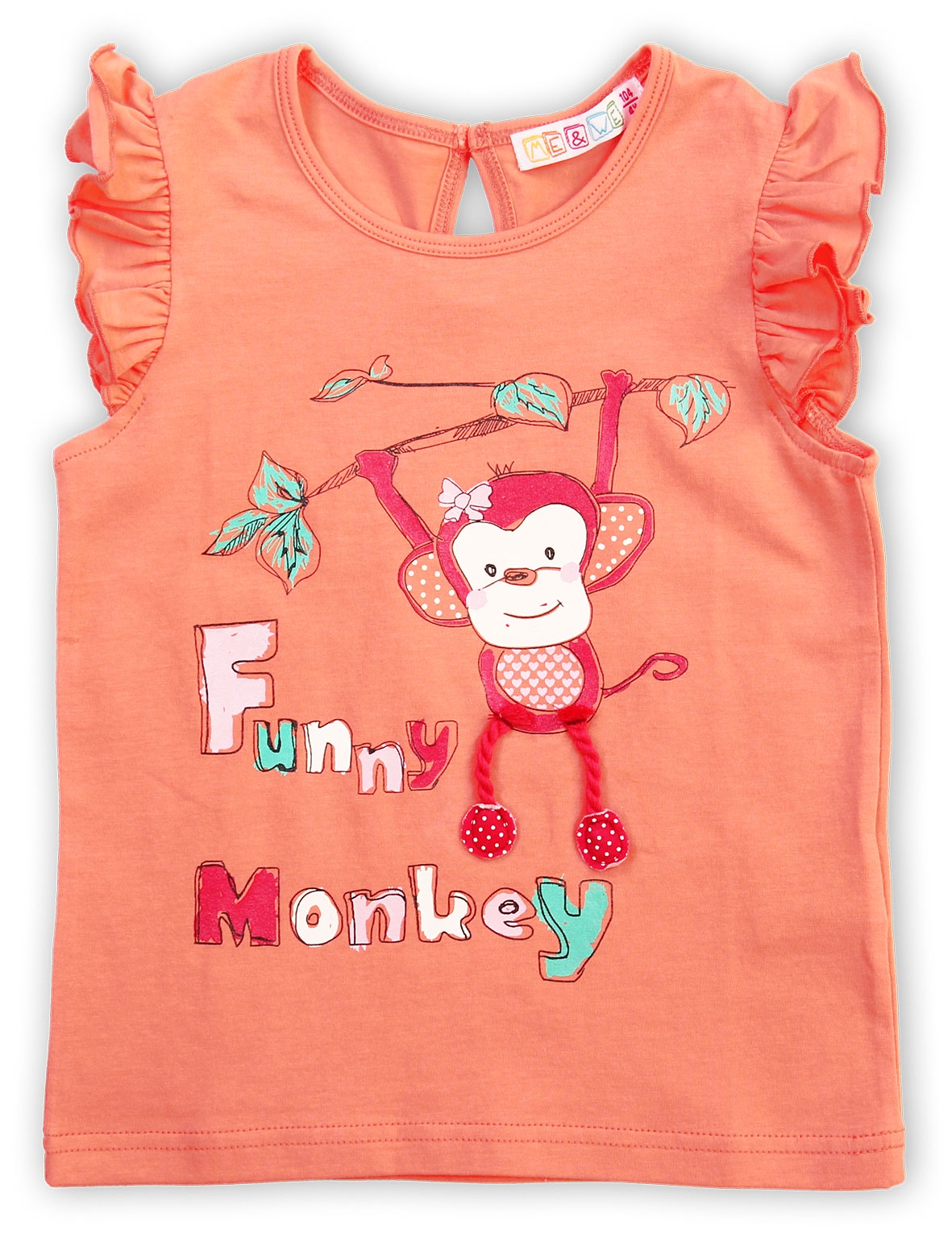 Футболка Me&We колготки для девочки acoola muna цвет светло розовый 20254460001 3400 размер 92