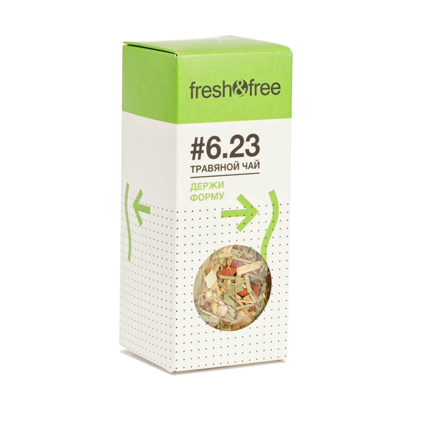 цена на Чай листовой фреш энд фри травяной ДЕРЖИ ФОРМУ - фрукты+травы
