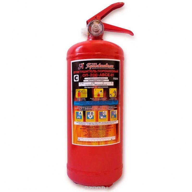 цена на Автомобильный огнетушитель Ярпожинвест ОП-2, красный