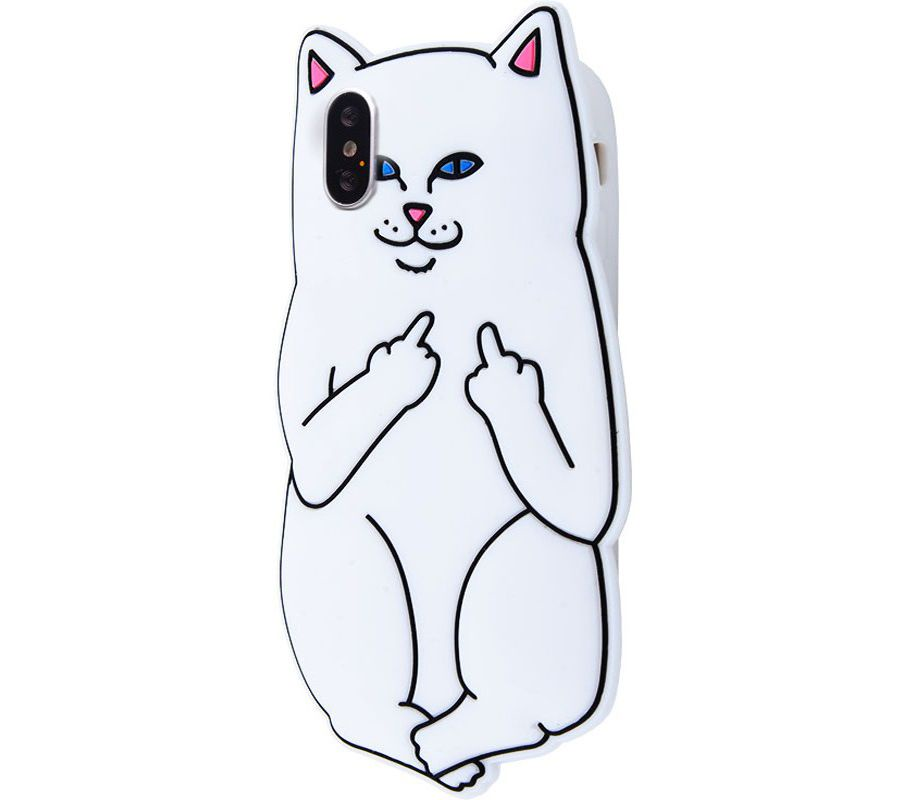 Чехол для сотового телефона ZUP LORD NERMAL для iPhone XS Max, белый чехол для сотового телефона zup lord nermal для iphone xs max черный