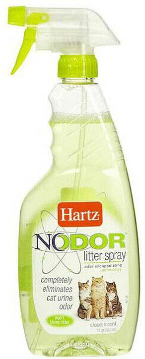 Уничтожитель запаха Hartz Nodor Litter Spray, H11443, с ароматизатором, 503 мл