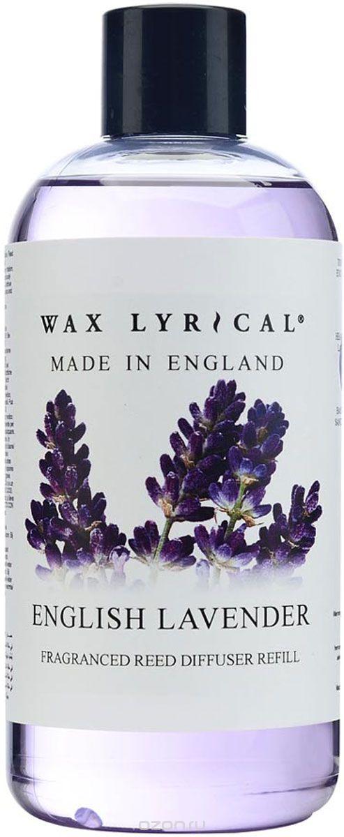 Ароматизатор интерьерный Wax Lyrical Наполнитель для ароматического диффузора Лаванда, 250 мл. наполнитель для ароматического диффузора wax lyrical цветущий хлопок 250 мл