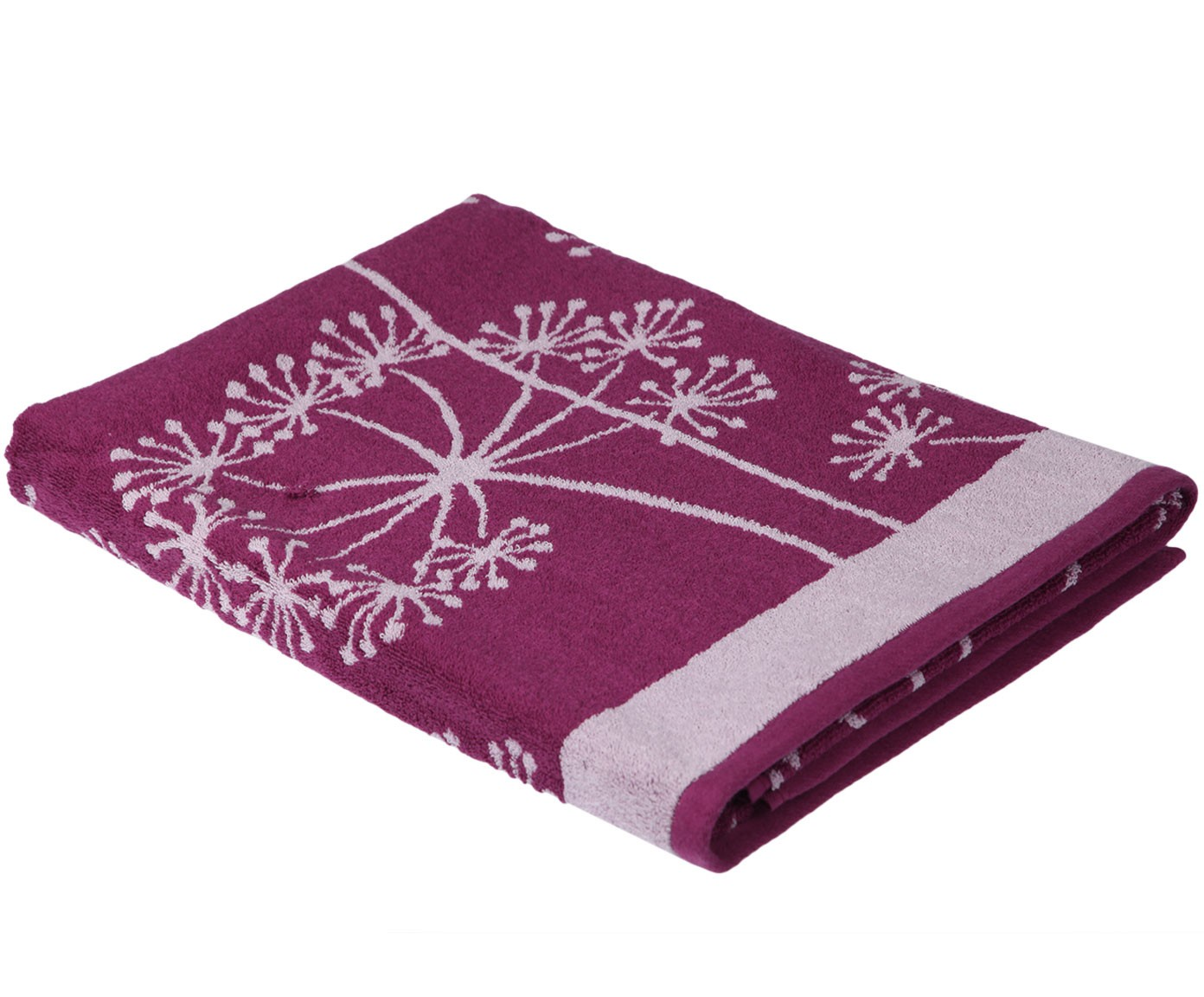 Полотенце банное Pastel Одуванчик, фиолетовый недорго, оригинальная цена
