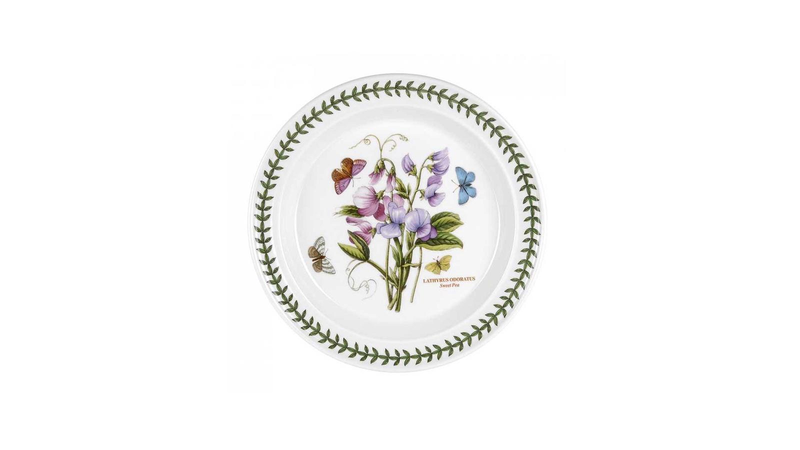 Тарелка Portmeirion PRT-BG05052-26, Фаянс закладки ботанический клуб