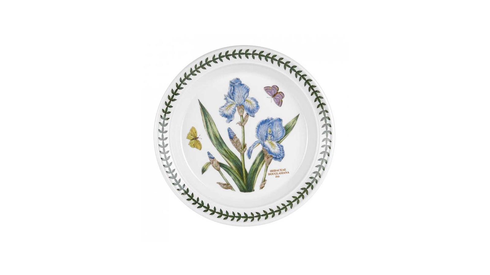 Тарелка Portmeirion PRT-BG05072-18, Фаянс закладки ботанический клуб